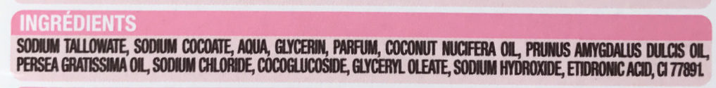 Savon Visage & Corps Dermatologique - Ingredients - fr