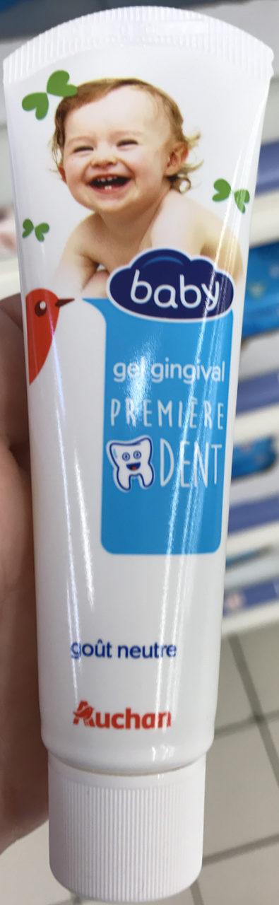 Gel gingival première dent - Product - fr
