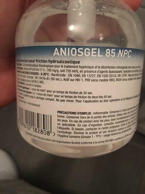 Aniosgel 85 NPC - Ingredients