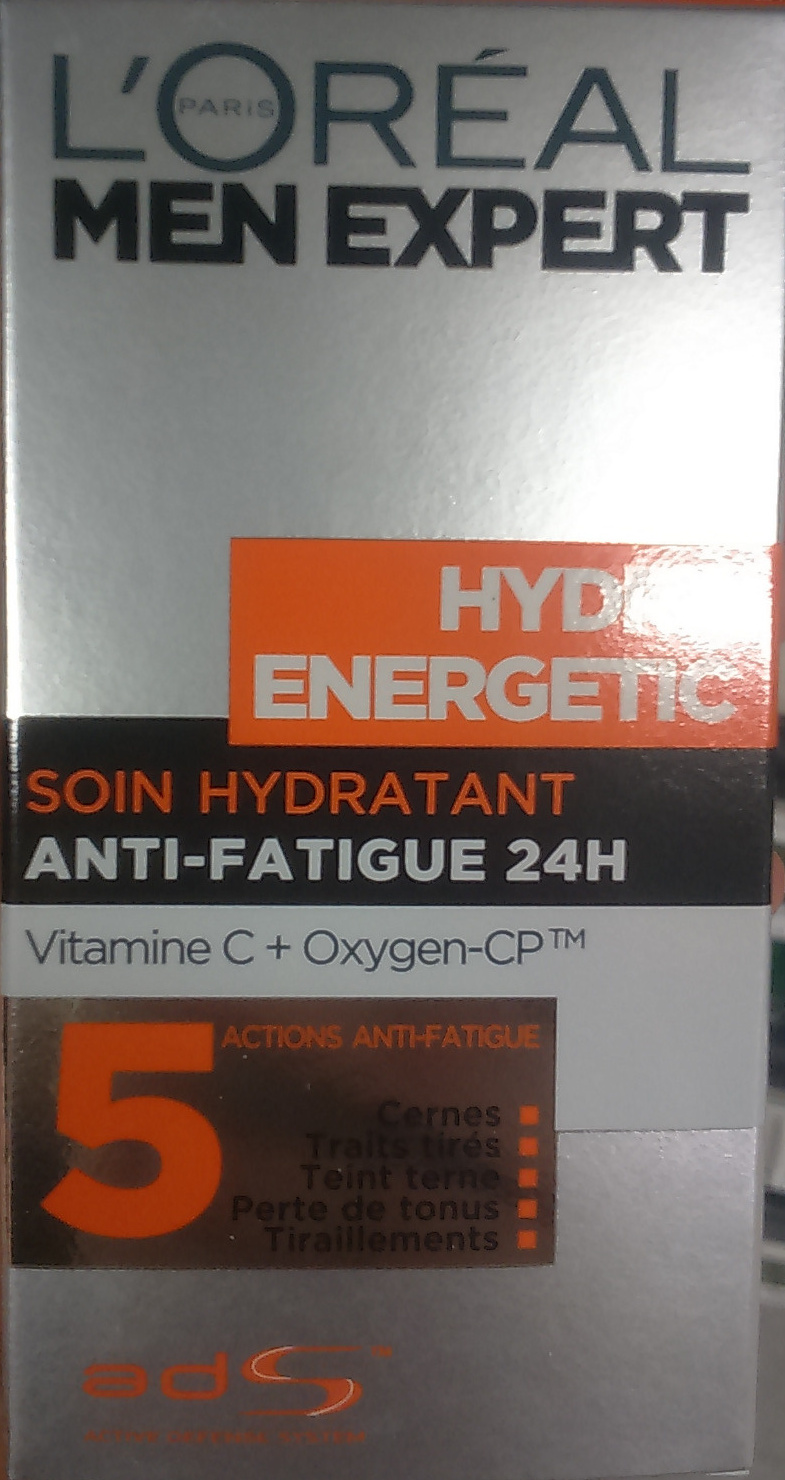 Hydro Energetic Soin Hydratant Anti-Fatigue 24H - Product - fr