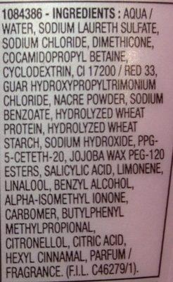 Elseve Nutri-Gloss Protéine + Perle - Ingredients - fr