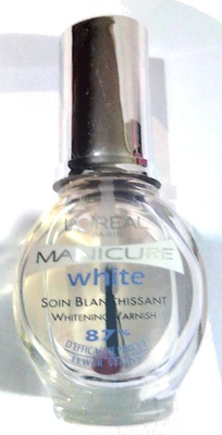 Manucure white soin blanchissant - Product
