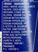 Elvive Anticaspa Selenium S Actif - Ingredients