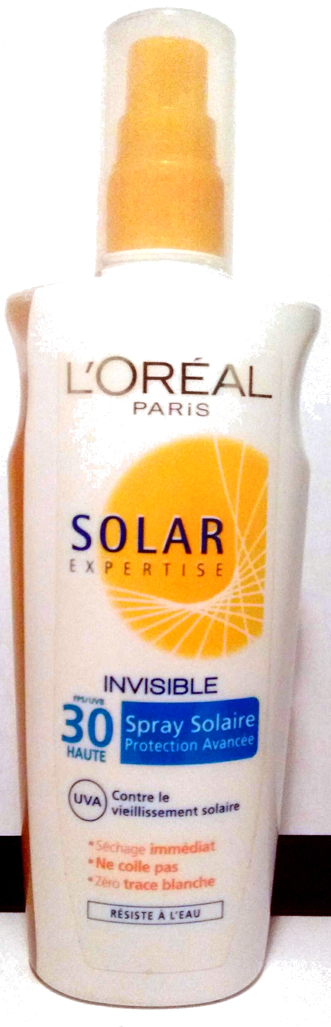 Solar Expertise Spray solaire Invisible 30 - Produit - fr