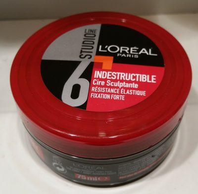 Studio Line Cire Sculptante Indestructible - Produit