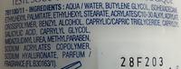 Derma genèse - Révélateur de jeunesse cellulaire - Lait nettoyant velours - Ingredients - fr