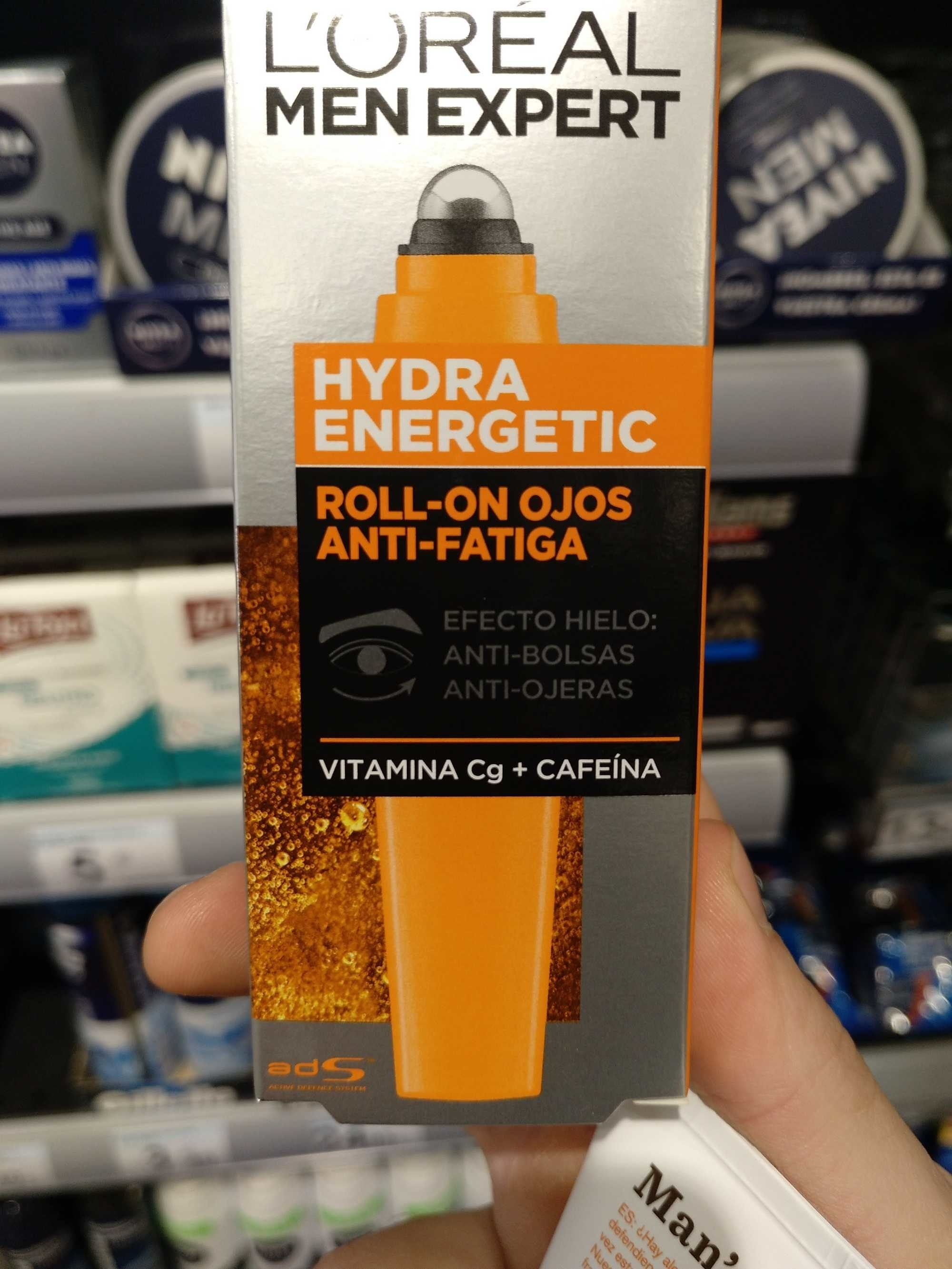 Hydra Energetic Roll-On Ojos Anti-Fatiga - Product