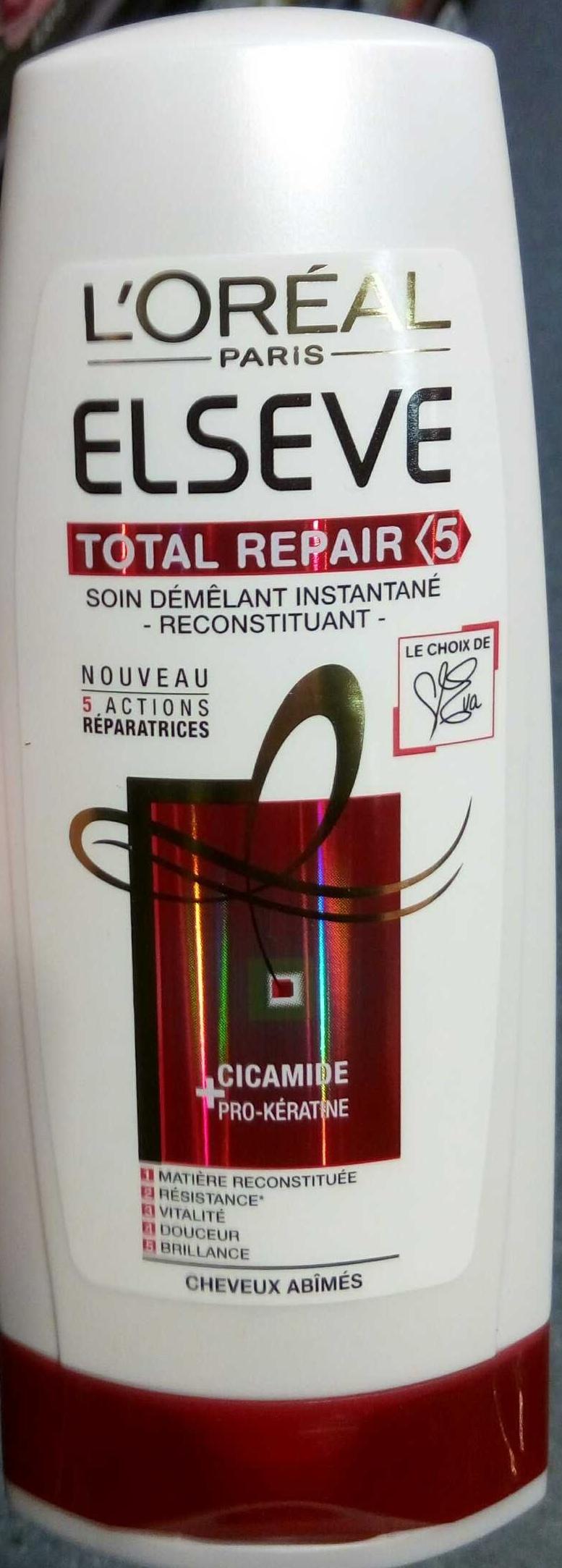 Total Repair 5 Soin démêlant instantané reconstituant Cicamide + Pro-Kératine - Product - fr