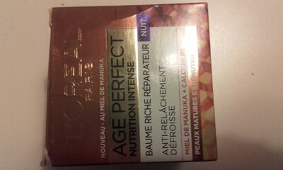AGE PERFECT NUTRITION INTENSE NUIT - Produit