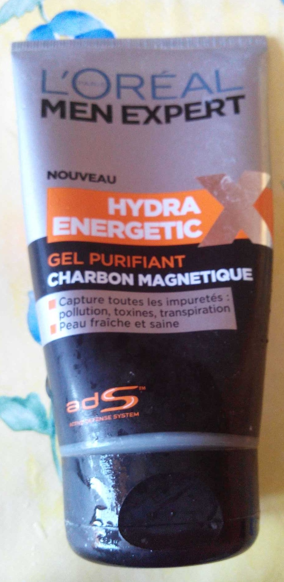 Hydra Energetic Gel purifiant charbon magnétique - Product - fr