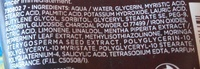 Hydra Energetic Gel purifiant charbon magnétique - Ingredients - fr
