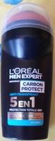 Carbon protect Anti-transpirant 5 en 1 Ice fresh - Produit - fr