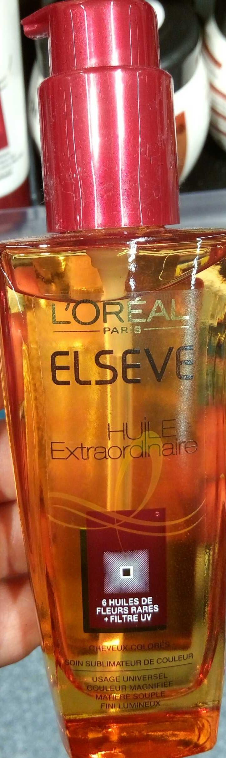Huile Extraordinaire cheveux colorés - Product - fr