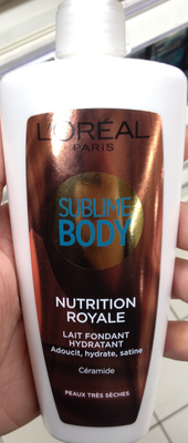 Sublime Body Nutrition Royale Lait fondant hydratant - Product - fr