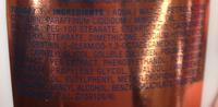 Sublime Body Nutrition Royale Lait fondant hydratant - Ingredients