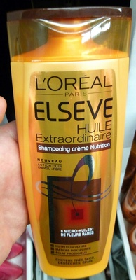 Elseve Huile Extraordinaire Shampooing crème nutrition - Product - fr