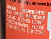 Studio Line #TXT Wave creating spray - Ingredients - fr