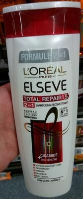 Elseve Formule 2 en 1 Total Repair Shampooing reconstituant - Produit