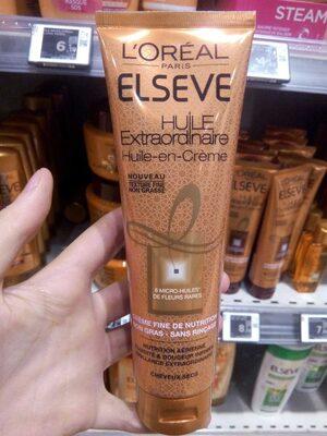 Huile-en-crème fine de nutrition, non gras - sans rinçage, cheveux secs - Produit - fr