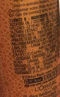 Huile-en-crème fine de nutrition, non gras - sans rinçage, cheveux secs - Ingrédients