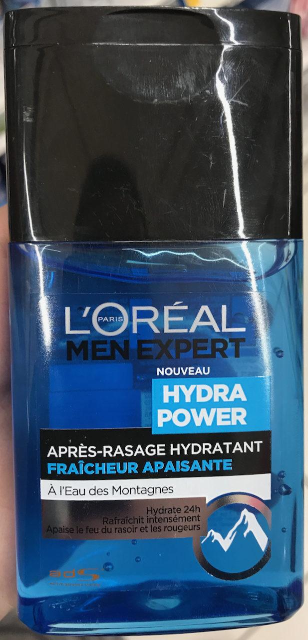 Hydra Power Après-rasage Hydratant à l'eau des montagnes - Produit - fr