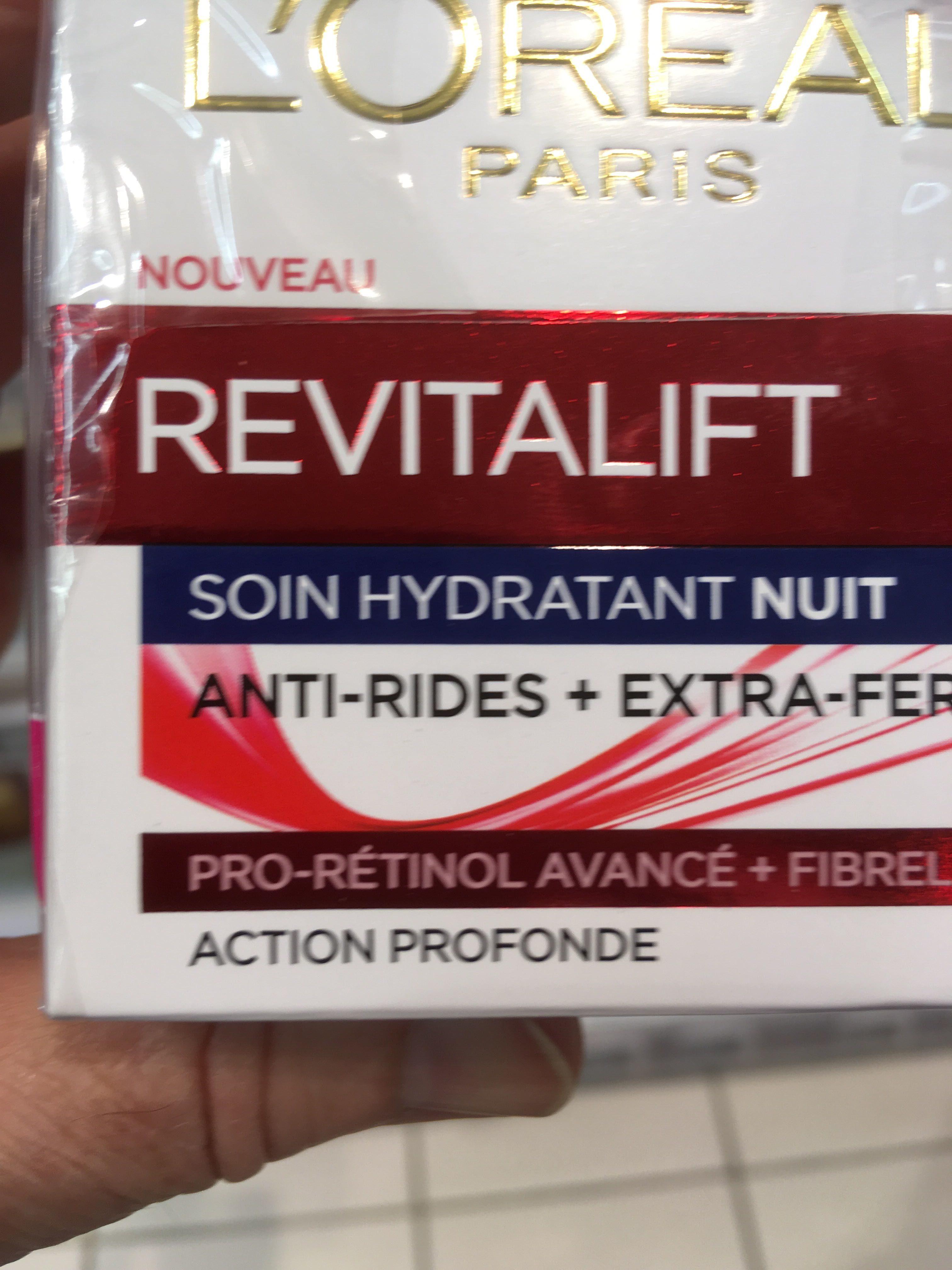 Revitalift Soin hydratant nuit - Product - fr