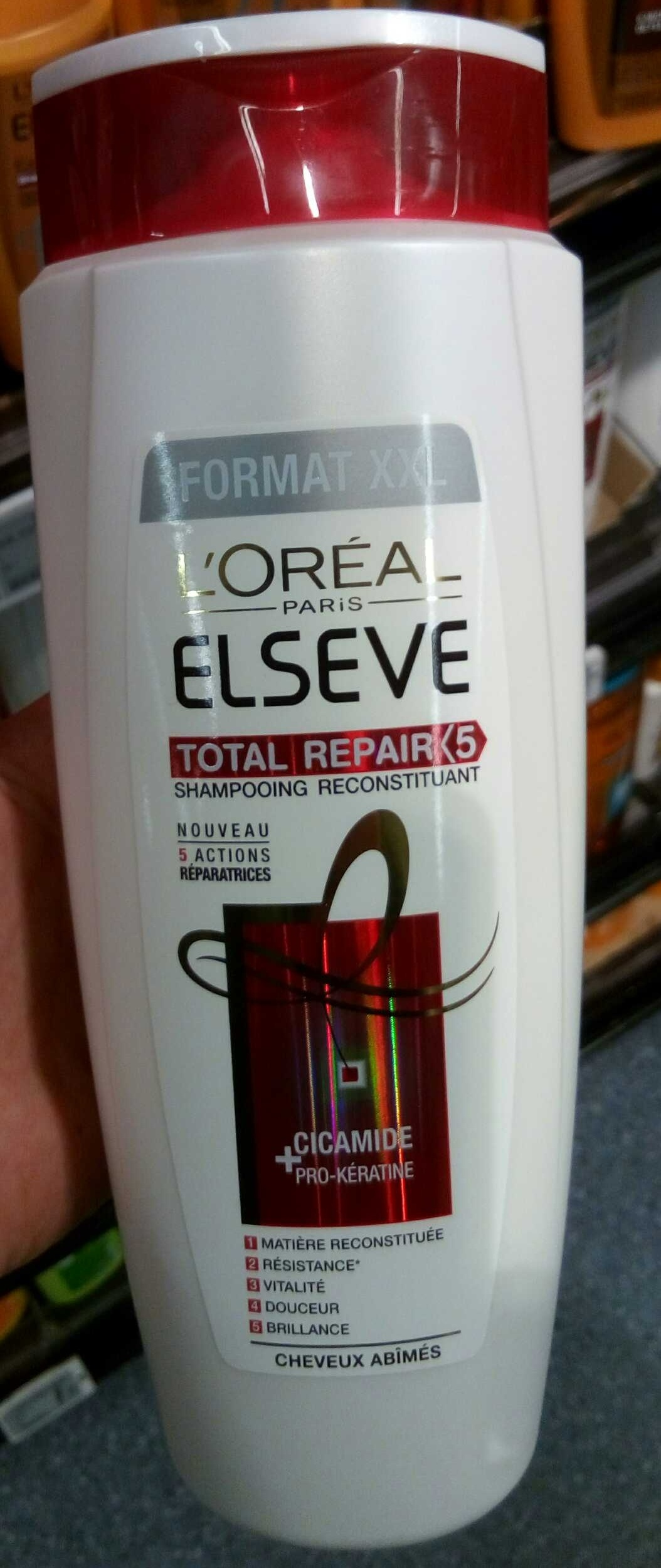 Elseve Total Repair 5 shampooing reconstituant (format XXL) - Product