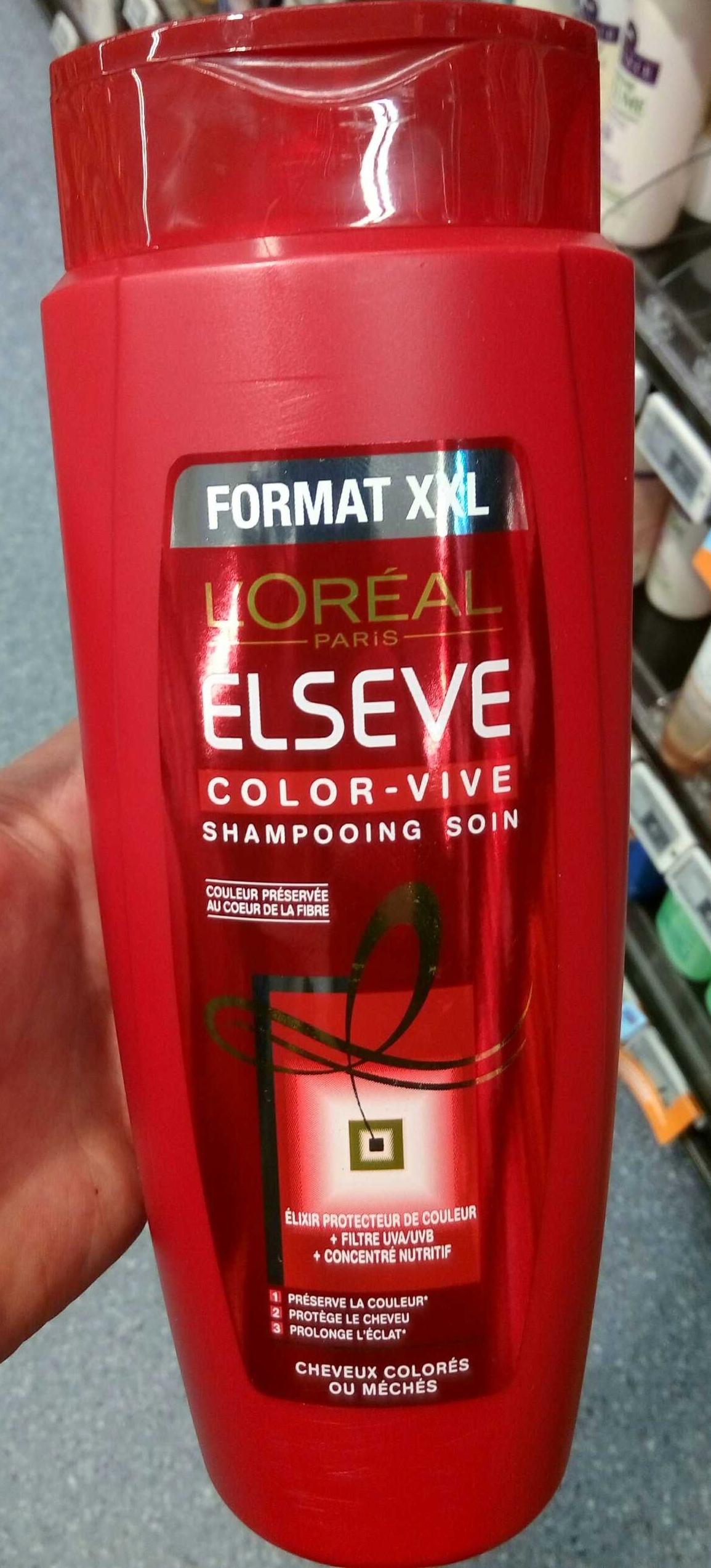 elseve color vive shampooing soin format xxl product - Elseve Color Vive