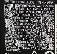 Gel douche Total Clean 5 en 1 (format XL) - Ingredients - fr