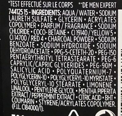 Gel douche Total Clean 5 en 1 (format XL) - Ingredients