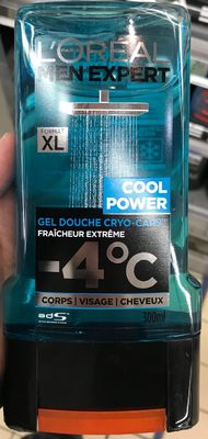 Cool Power Gel Douche Cryo-Caps™ -4°C (Format XL) - Product - fr