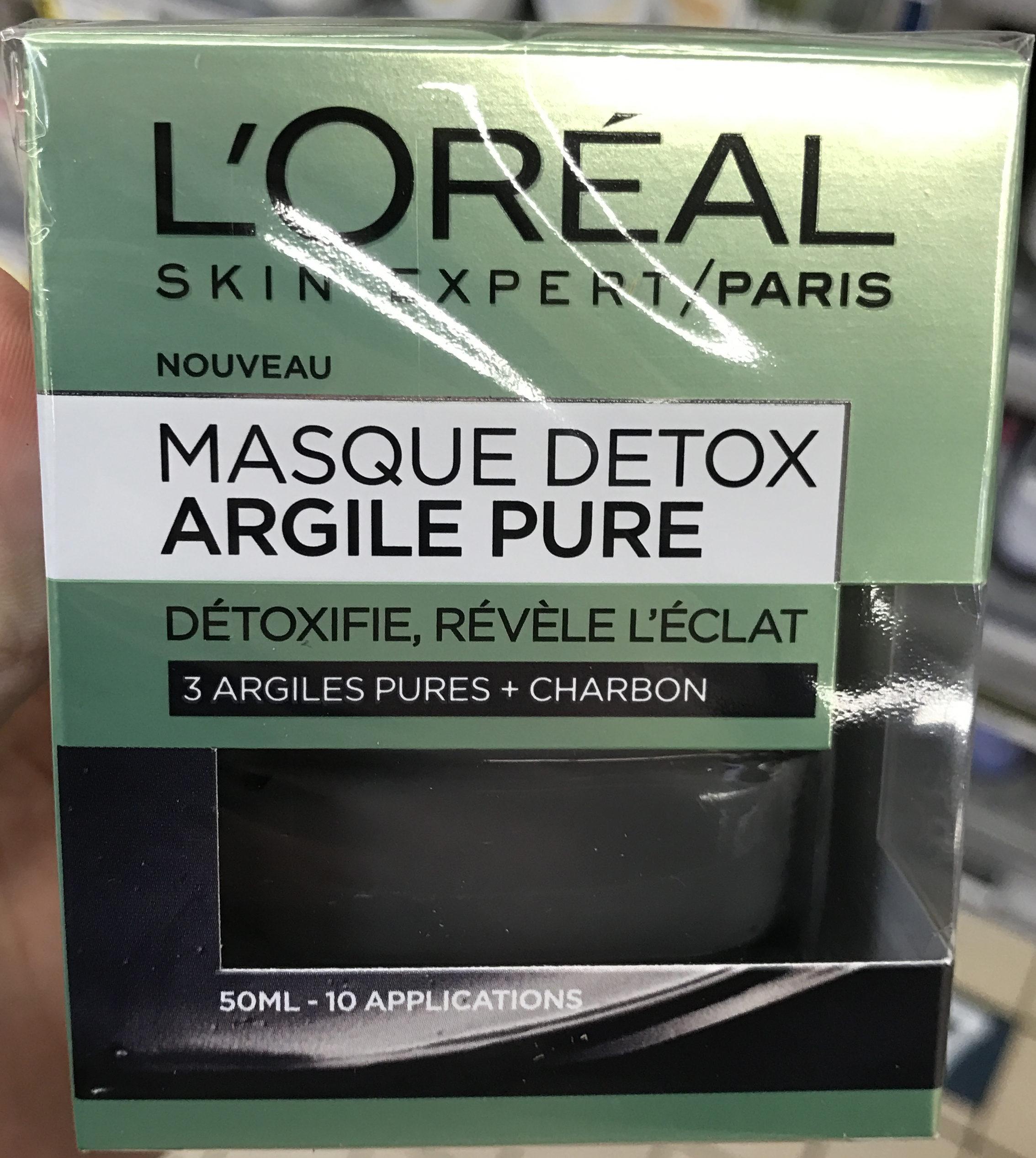 Masque Detox Argile Pure - Produit - fr