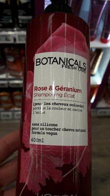 Rose & Géranium Shampooing Eclat - Product