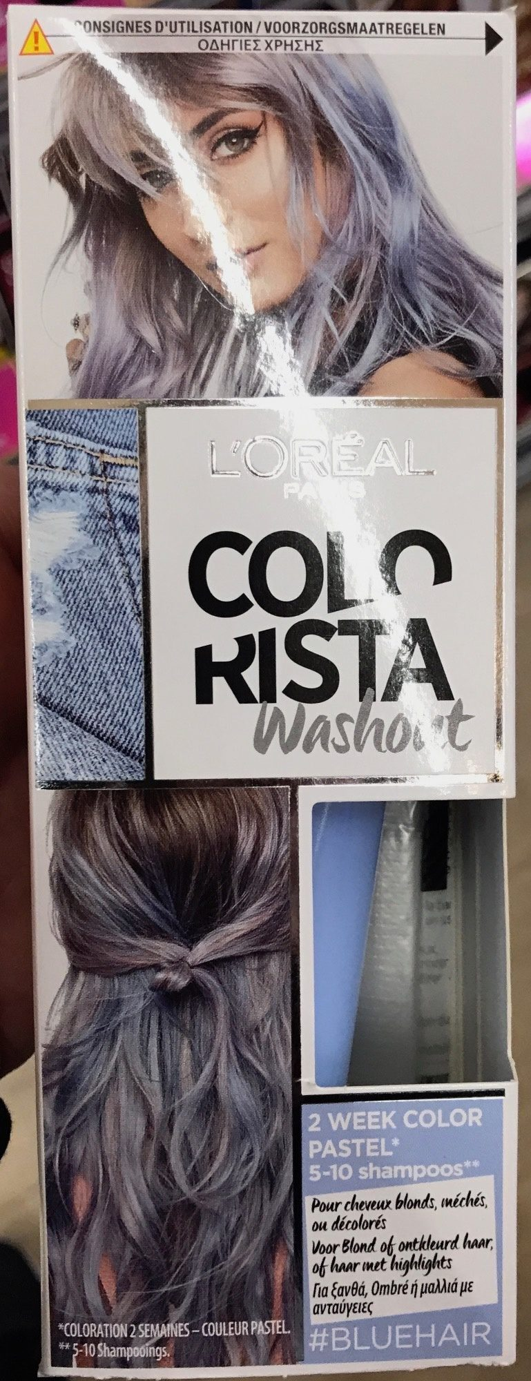 Colorista washout #bluehair - Product - fr