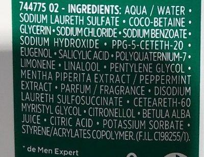 Hydra Sensitive Gel douche sève de Bouleau (format XL) - Ingredients - fr
