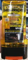 Invisible Sport Gel douche Camphre 5 en 1 (format XL) - Product