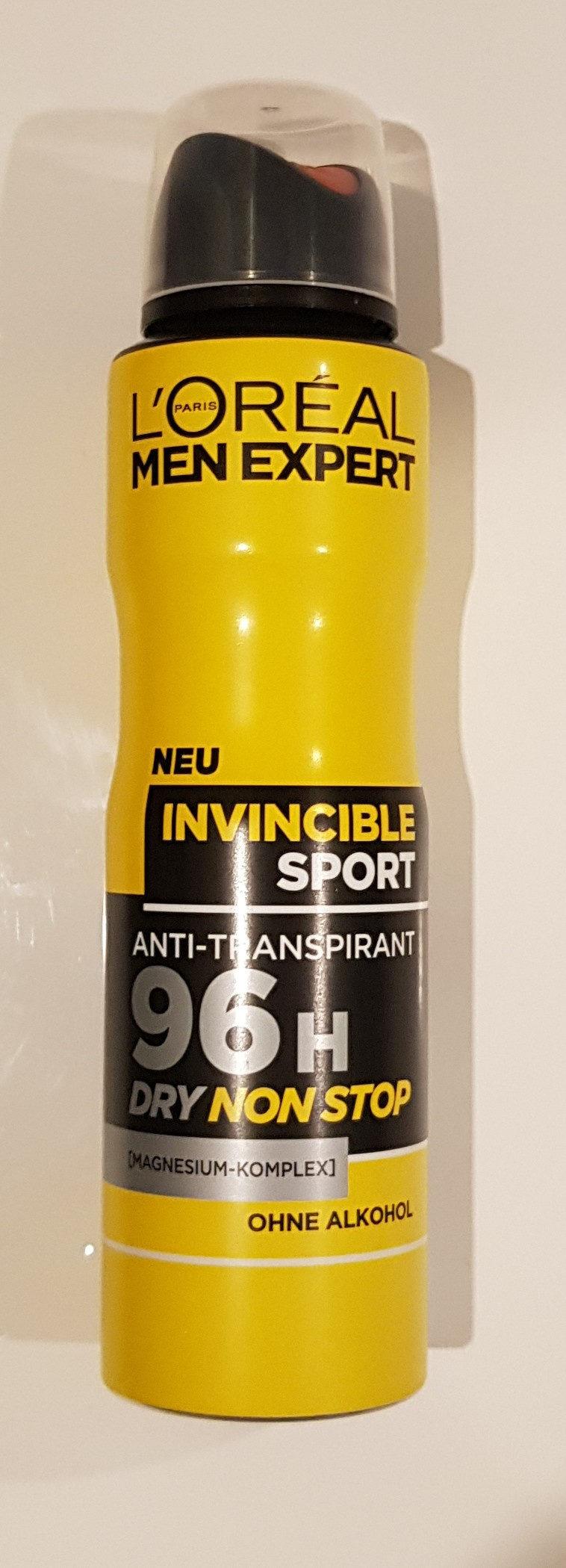 Deodorant (Invincible Sport) - Product