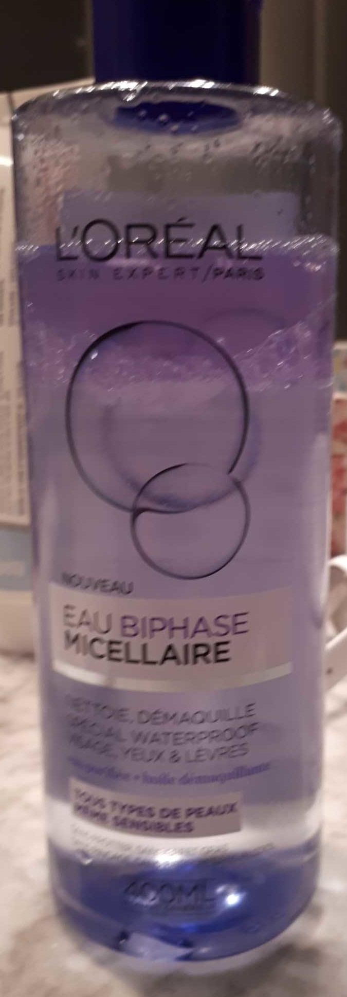 Eau biphase micellaire - Product - fr