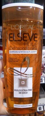 Shampooing nutrition haute légereté - Produit