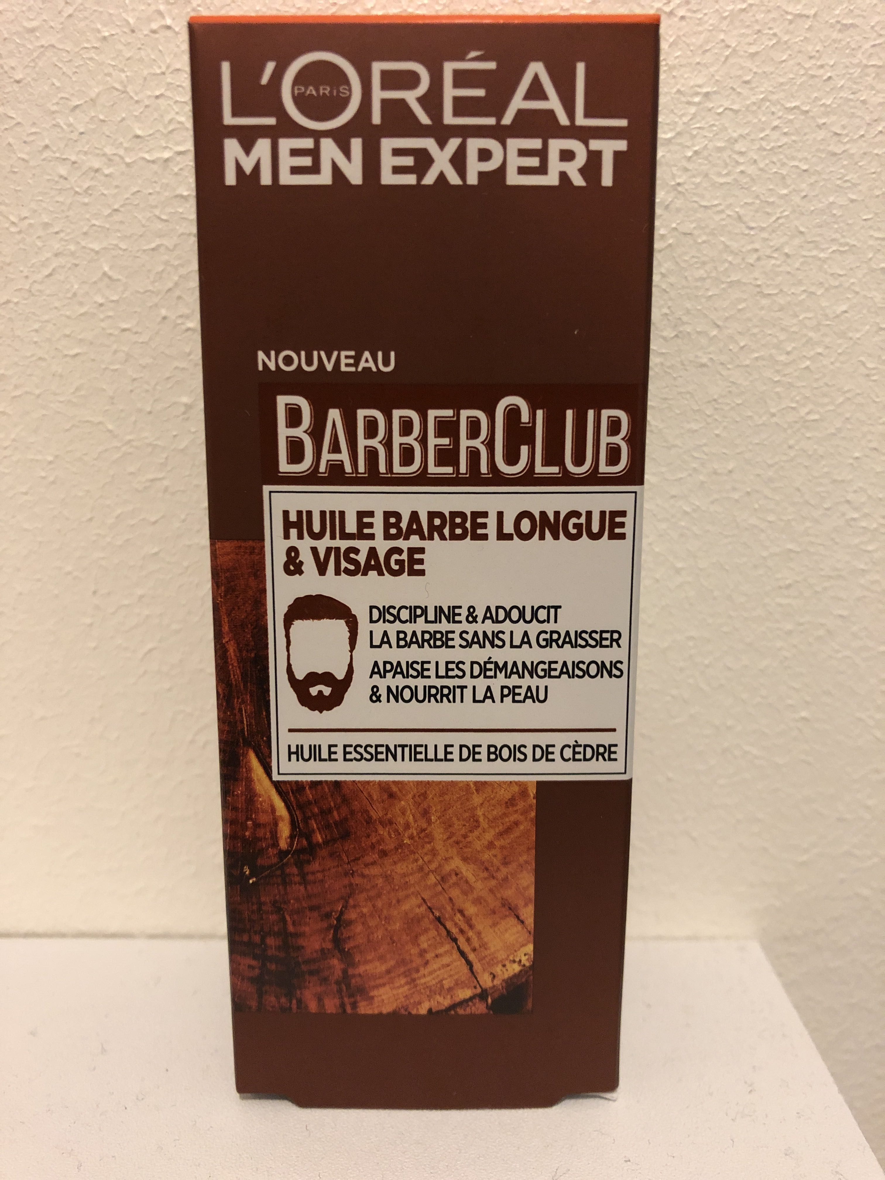 Huile barbe longue & visage - Product - fr