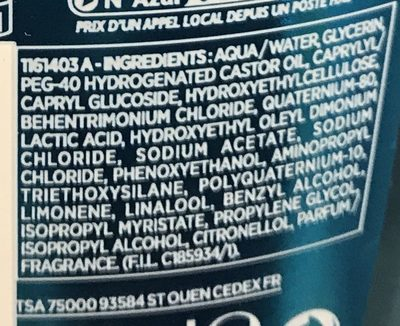 Elsève Fibralogy Air - Ingredients