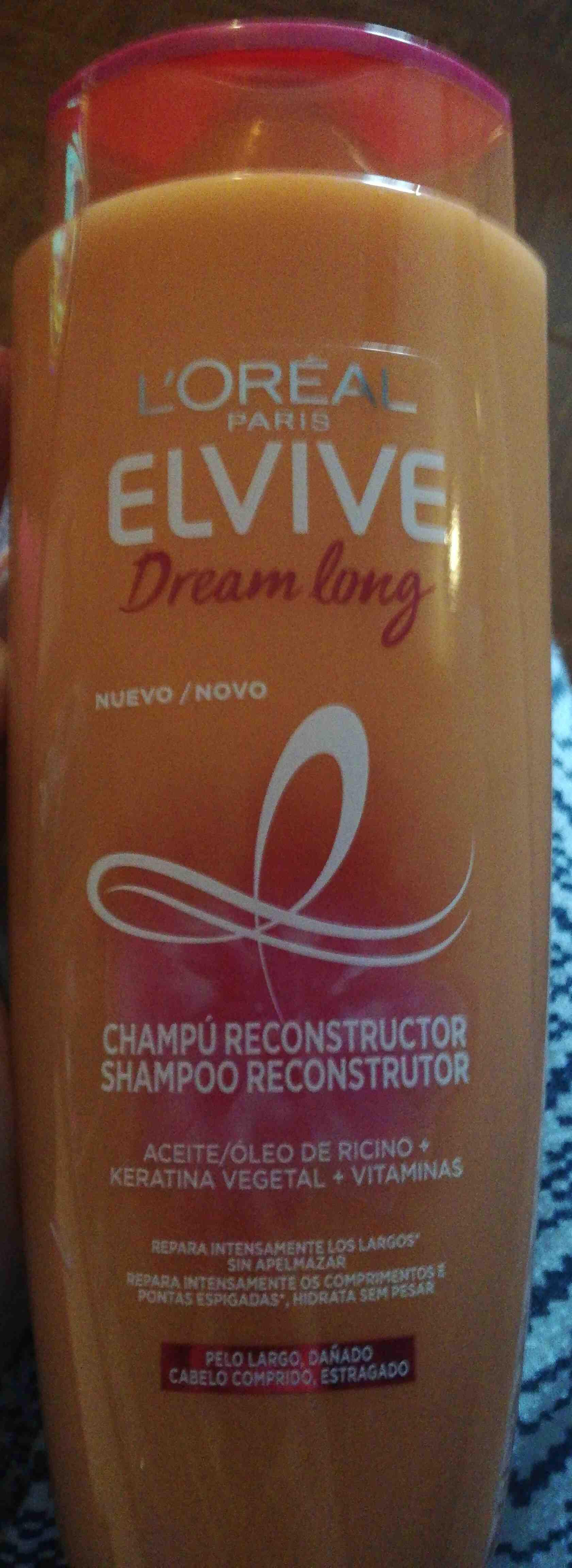 Shampoo reconstruir dream long elvive - Produto - en