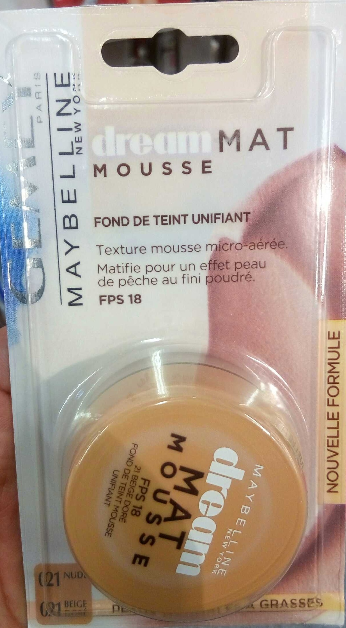 Dream Mat Mousse - Product