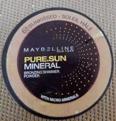Pure Sun Mineral Bronze Shimmer Powder 02 Soleil Hâlé - Product - fr