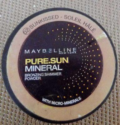 Pure Sun Mineral Bronze Shimmer Powder 02 Soleil Hâlé - Produit