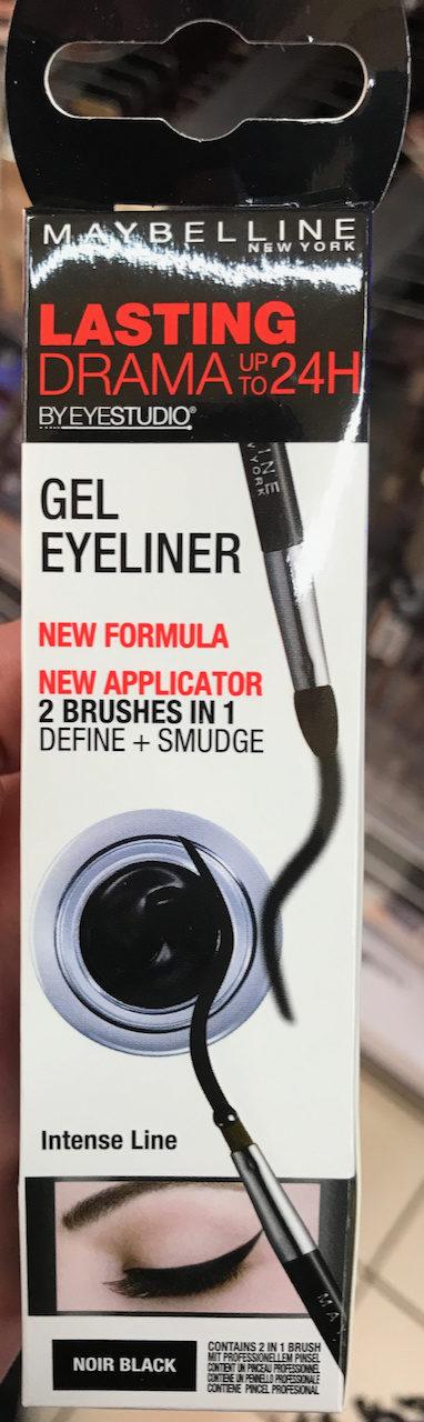 Lasting Drama Gel Eyeliner Noir - Product