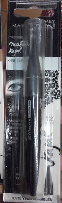 Master Kajal Khol liner - Pitch Black - Product