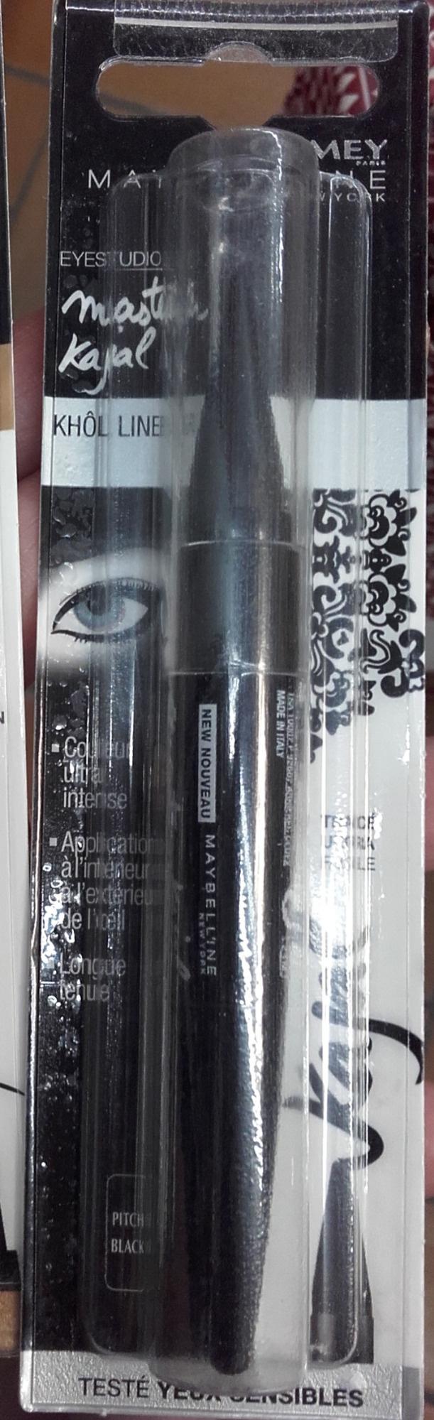 Master Kajal Khol liner - Pitch Black - Product - fr