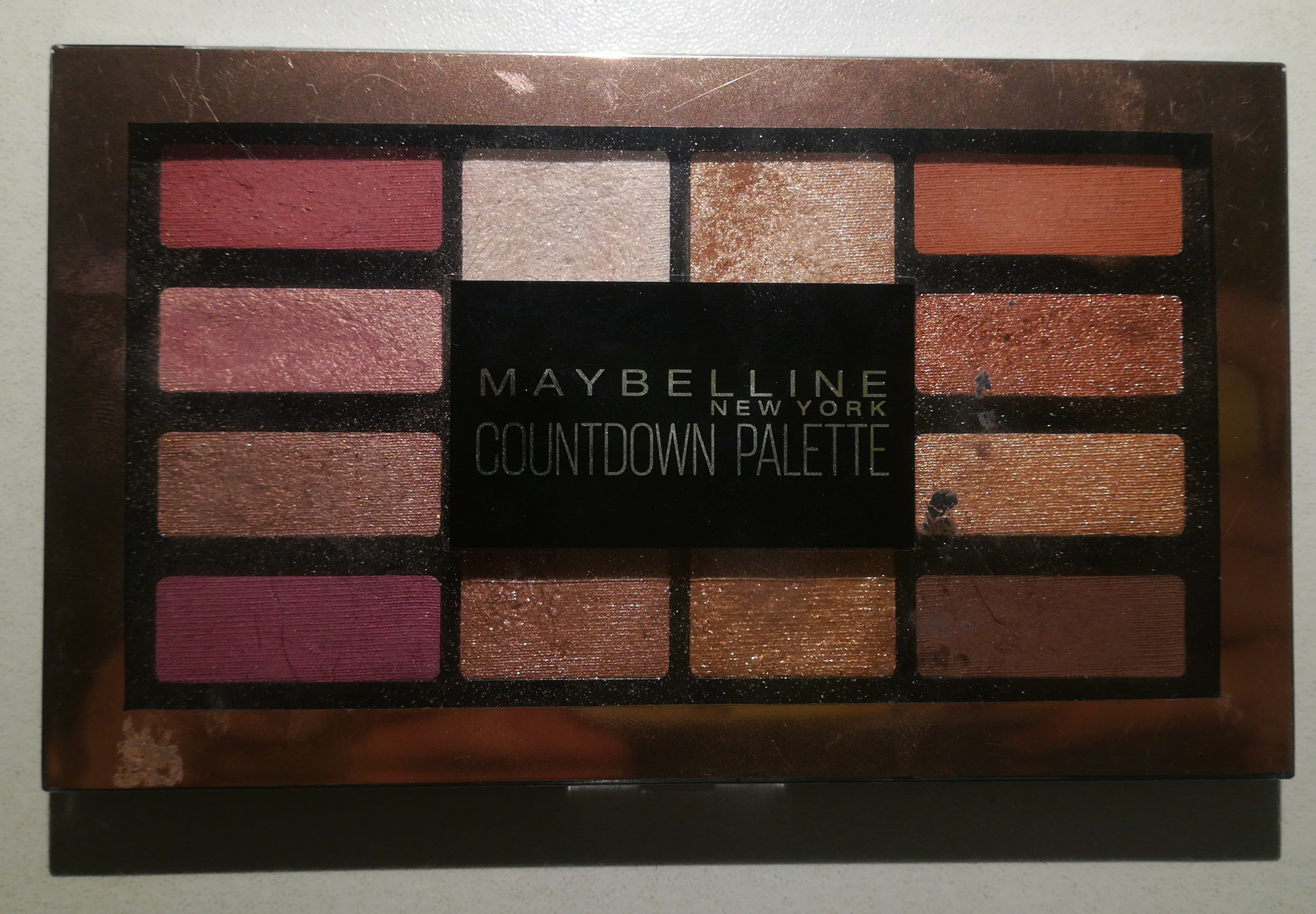 Countdown eyeshadow palette - Product