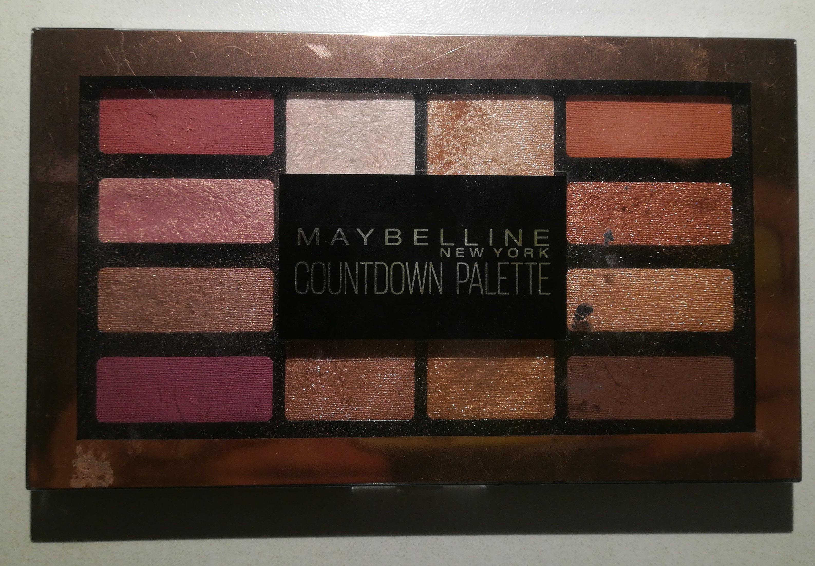 Countdown eyeshadow palette - Product - en